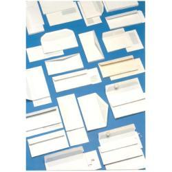 Busta Blasetti - Super poket - busta - 110 x 230 mm - apertura laterale - bianco 126