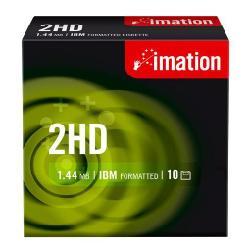 Floppy disk Imation - Floppy disk x 10 - 1.44 mb - supporti di memorizzazione i12881
