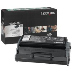 Toner Lexmark - Nero - originale - cartuccia toner - lrp 12a7400
