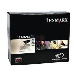 Toner Lexmark - Nero - originale - cartuccia toner 12a8244