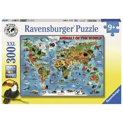 Puzzle Ravensburger - Xxl - animali intorno al mondo 13257