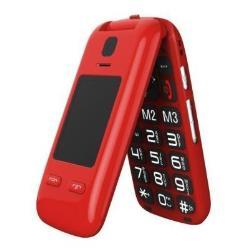 Telefono cellulare Saiet - Vista rosso