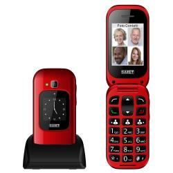 Telefono cellulare Saiet - Unico max nero lucido