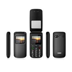Telefono cellulare Saiet - Pronto flip - nero - gsm - cellulare 13500809