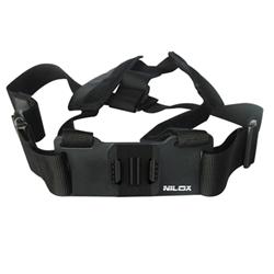 Nilox - Chest mount harness monopiede da appoggio al petto 13nxakacpf003