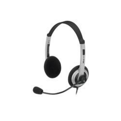 Casque Trust Headset HS-2450 - Casque - sur-oreille - noir/gris