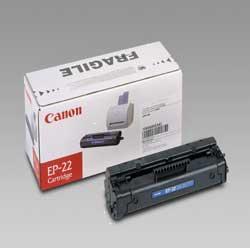 Toner Canon - Ep-22 - nero - originale - cartuccia toner 1550a003aa