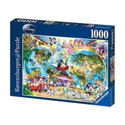 Puzzle Ravensburger - Mappa del mondo 15785