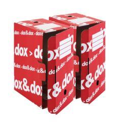 Raccoglitore Rexel - CF12 SCATOLA ARCHIVIO DOX DOX