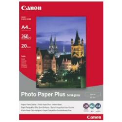 Carta fotografica Canon - Photo paper plus sg-201 - carta fotografica - semi-lucida - 20 fogli 1686b021