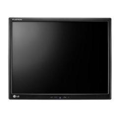 """Écran LED LG 17MB15T-B - Écran LED - 17"""" - écran tactile - 1280 x 1024 - TN - 250 cd/m² - 1000:1 - 5 ms - VGA - noir piano glacé"""