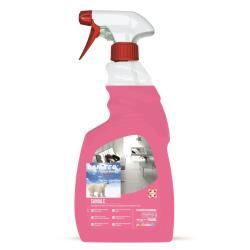 Sanitec - Sanialc detergente (pacchetto di 6) 1830-s