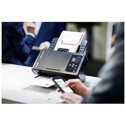 Scanner Kodak i1190WN - Scanner de documents - Recto-verso - 215 x 355.6 mm - 600 ppp x 600 ppp - jusqu'à 40 ppm (mono) / jusqu'à 40 ppm (couleur) - Chargeur automatique de documents (75 feuilles) - jusqu'à 5000 pages par jour - USB 2.0, LAN, Wi-Fi(n)