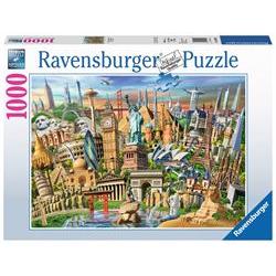 Puzzle Ravensburger - Classic - world landmarks 19890