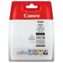 Serbatoio Canon - Cli-581xxl c/m/y/bk multi pack - confezione da 4 - very high yield 1998c004