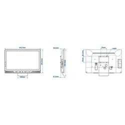 TV LED Philips - 19hfl4010w/12