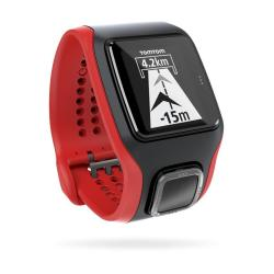 Sportwatch Tom Tom - MultiSport Cardio HR+CAD Black