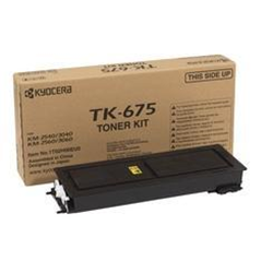 Toner KYOCERA - Tk 675 - nero - originale - cartuccia toner 1t02h00eu0