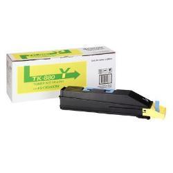 Toner Kyocera - Tk 880y - giallo - originale - cartuccia toner 1t02kaanl0