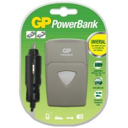 Caricabatteria GP Battery - Gp caricabatterie + adattatore di alimentazione per auto 202158