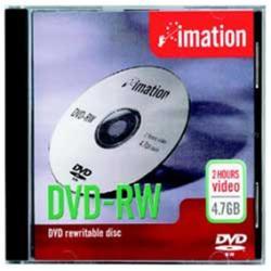 DVD-RW Imation - Showbox - dvd-rw x 10 - 4.7 gb - supporti di memorizzazione i21061