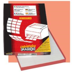 Etichette Markin - Copiatabu - etichette - 1600 etichette - 105 x 36 mm - 70 g/m² 210c501