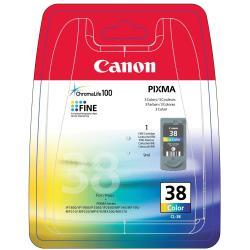 Serbatoio Canon - Cl-38 - colore (ciano, magenta, giallo) - originale 2146b008