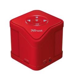 Speaker Wireless Bluetooth Trust - Muzo Rosso