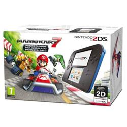 Image of Console 2DS Nero Blu + Mario Kart 7