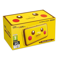 Image of Console 2DS XL Pikachu Edition
