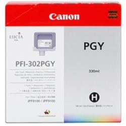 Serbatoio Canon - Pfi-302 pgy - grigio fotografico - originale - serbatoio inchiostro 2218b001aa