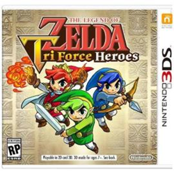 Videogioco Nintendo - The legend of zelda: tri force heroes Nintendo 3ds