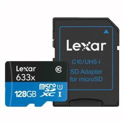 Micro SD Lexar - High performance - scheda di memoria flash - 128 gb lsdmi128bbeu633a