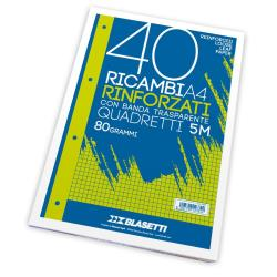 Ricambi Blasetti - RICAMBI A4 QUADRI 5MM 40FF
