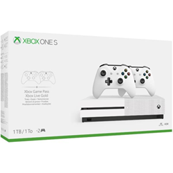 Image of Console Xbox One S 1TB + 2 Controller Wireless