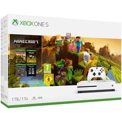 Console Microsoft - Xbox One S 1TB + Minecraft Creators