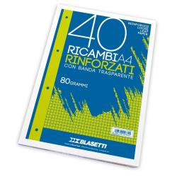 Blasetti - RICAMBI A4 RIGHE 4F 40FF