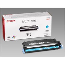 Toner Canon - 717 cyan - ciano - originale - cartuccia toner 2577b002aa
