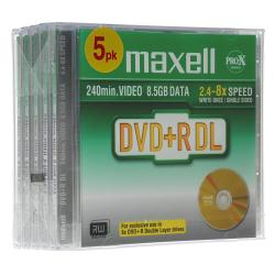 DVD Maxell - Dvd+r dl x 1 - 8.5 gb - supporti di memorizzazione 275579