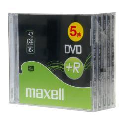 DVD Maxell - Dvd+r x 5 - 4.7 gb - supporti di memorizzazione 276057