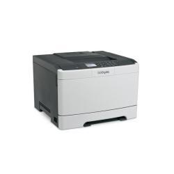 Imprimante laser Lexmark CS410n - Imprimante - couleur - laser - A4/Legal - 1200 ppp - jusqu'à 30 ppm (mono) / jusqu'à 30 ppm (couleur) - capacité : 250 feuilles - USB, LAN, hôte USB