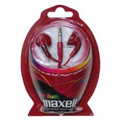 Auricolare Maxell - Colour Budz Red