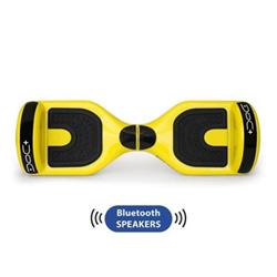 Hoverboard Nilox - Doc Plus - Velocità max 10 km/h - Autonomia 12 KM - Yellow/Black
