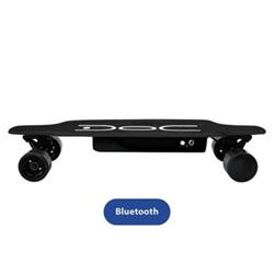 Skateboard elettrico Doc+ Velocità Max 12 Km/h Autonomia 20 Km Black