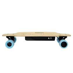 Skateboard elettrico Nilox - Doc - Velocità Max 12 Km/h Autonomia 20 Km - Sky Blue