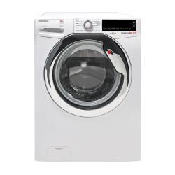 Lave-linge Hoover Dynamic Next DXA 58AH-30 - Machine à laver - pose libre - largeur : 60 cm - profondeur : 60 cm - hauteur : 85 cm - chargement frontal - 54 litres - 8 kg - 1500 tours/min - blanc