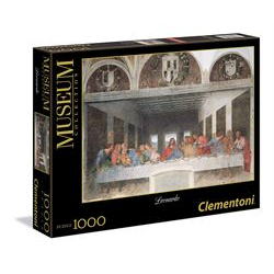Puzzle Clementoni - Leonardo: Cenacolo 31447