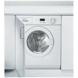 Lave-linge encastrable Candy CWB 1372DN1-S - Machine à laver - intégrable - chargement frontal - 7 kg - 1300 tours/min - blanc