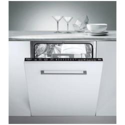 Lave-vaisselle encastrable Candy CDIM 2412 - Lave-vaisselle - intégrable - Niche - largeur : 60 cm - profondeur : 55 cm - hauteur : 81.8 cm