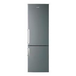 Réfrigérateur Candy CCBS6182XHV/1 - Réfrigérateur/congélateur - pose libre - largeur : 60 cm - profondeur : 60 cm - hauteur : 187 cm - 305 litres - congélateur bas - classe A+ - inox